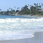 Laguna Beach California-looking north toward tide pools