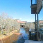 Creekside room 2 balcony