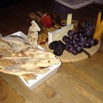 Wonderful cheese platter