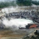 Действующий кратер вулкана Poas