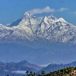 Nanda Devi 7816m - view from AyurVAID Kalmatia
