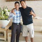 Luyen (super coold dude) & my husband