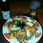 Fresh Fish Salad with Papaya and Pineapple