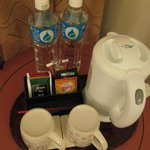 Drinking facilities in room @ Cityview Hotel, Hong Kong
