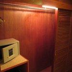 Big closet in room @ Cityview Hotel, Hong Kong