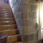Burrow stairs