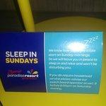 Sunday sleep ins??? Not here!