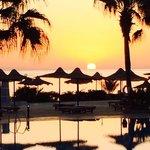 blue reef sunrise