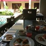 朝食 バイキングでした!!