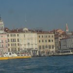 The hotel from Canal Grande