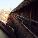 古老的城牆棧道