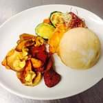 halloumi & roasted vegetables