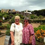Christine (right) and I at Mudbrick Winery.