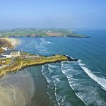 Aerial View of Inchydoney