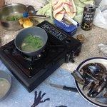 cooking in ardishaig