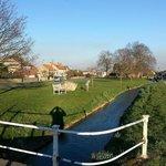 Picturesque Snape village
