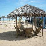 La spiaggia del Pachuka