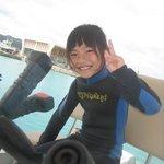 ダイビングに挑戦!沖縄子供ダイビング