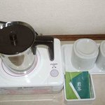 room(green-tea bag)