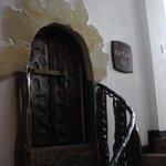Mini door to enter the bar - WTF?...
