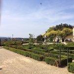 Jardim em frente ao museu da cerâmica