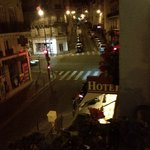 Paris by night from room