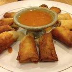 Best crispy spring rolls in Siam Reap!