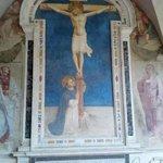 San Domenico adorante il Crocifisso