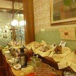 Excellent buffet breakfast at Hotel Berna Milan