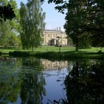 View of Glansevern Hall from the Lake