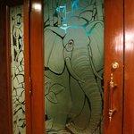 Enter the exotic Elephant Room lounge