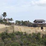 要塞の遠景