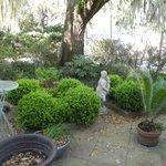 Outside of the Inn, the gardens!