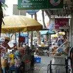 The oldest street in Bangkok just 10 mins walk away