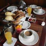 Desayuno único!