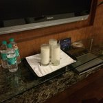 The milk left for days in our room