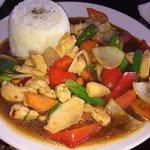 Chicken and cashew nut stir fry   Mmmmmmmmmm
