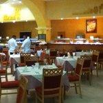 Salle de restaurant agréable