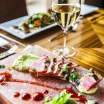 Chef Amie's Seared 5-Spice Rubbed Tuna Loin with Avocado Mousse