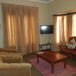 Lounge in Lilac lodge nr 1 + 2 (One unit)  8 sleeper