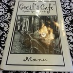 Cecil's Cafe menu