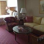 Room in garden suite area