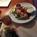 Cobb salad via room service