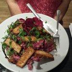 Tofu salad,  Scrumptious! !!