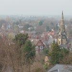 Hazy view of Alderley Edge from Arley Suite