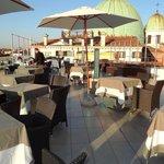 Rooftop restaurant!