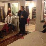 Niky Giustini ospite di una serata al Melograno