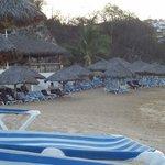 Beach with bar