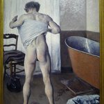 The most recent addition - Gustave Caillebotte's A Man at his Bath (1884)