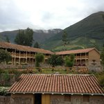 View of Andes front front porch